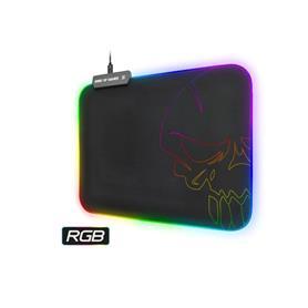 ALFOMBRILLA SKULL RGB GAMING M 30X23X0.3 10 MODOS LED SPIRIT OF GAMER