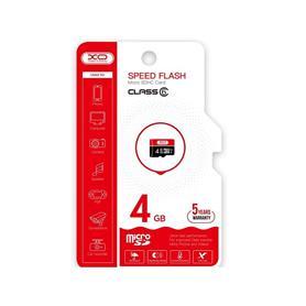 TARJETA MICROSD 4 GB HIGH LEVEL TF HIGH SPEED  XO
