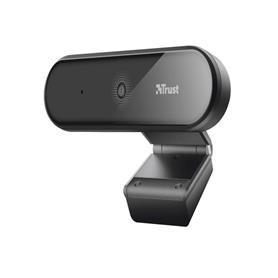 WEBCAM CON MICROFONO FULL HD 1080P TYRO ENFOQUE AUTO TRIPODE TRUST