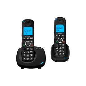 TELEFONO INALAMBRICO DUO  XL535 NEGRO ALCATEL