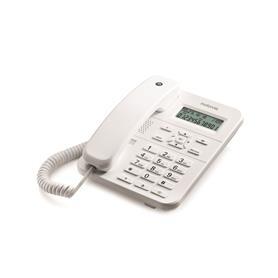 TELÉFONO FIJO SOBREMESA DIGITAL CT202 BLANCO MOTOROLA