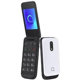"""TELEFONO MOVIL BLANCO 2053D 2.4"""" 4MB RAM/ROM CAM 1.3MPX DUAL SIM ALCATEL"""