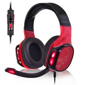 AURICULARES CON MICRÓFONO ELITE H60 RED DRIVERS 50MM SPIRIT OF GAMER