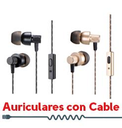 Sonido Auriculares Cable