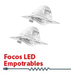 Focos LED Empotrables
